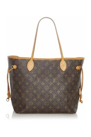 Pre-owned Monogram Neverfull MM Canvas