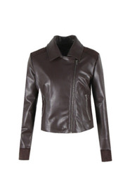 LEATHER LOOK JACKET ANNELIES