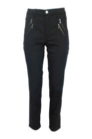 Spodnie materiałowe dopasowane