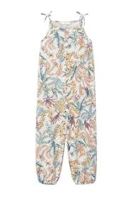 Jumpsuit med blomsterprint