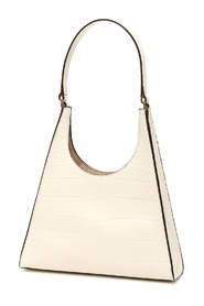 rey bag in croco embossed leather