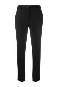 Beskåret skinny bukser