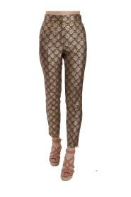 Metallic Tapered Trouser