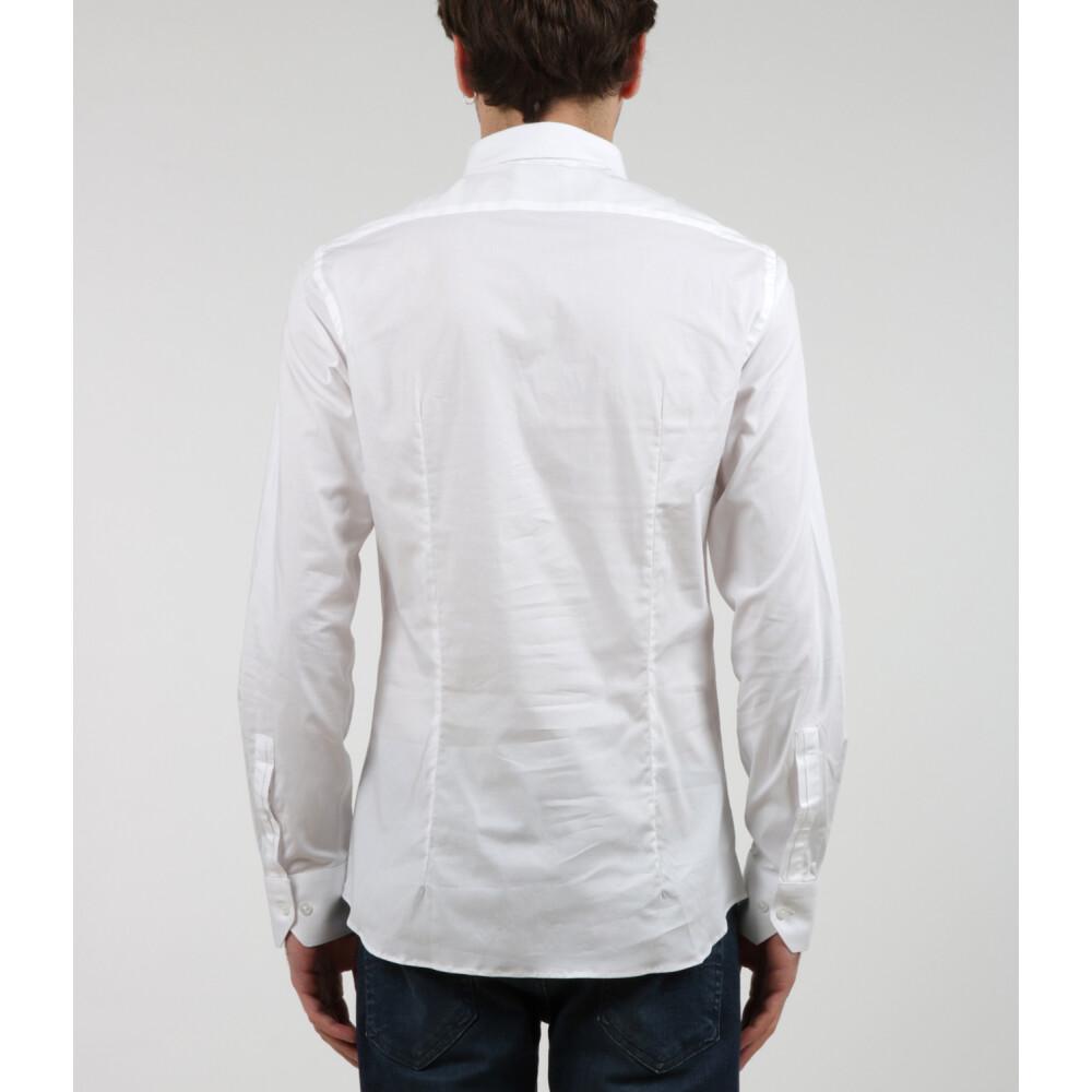 White Shirt | Paolo Pecora | Zakelijke Overhemden | Herenkleding