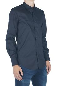 Antony Morato Basic slim fit shirt Zwart