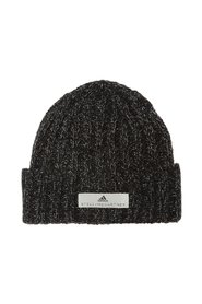 Woven hat with logo