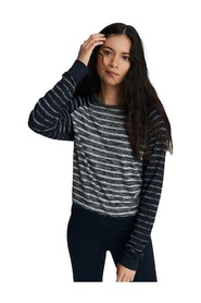 The Knit Stripped Pullover
