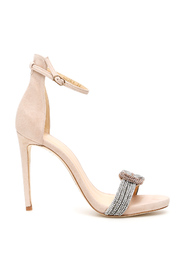 Crystal sizzle sandals