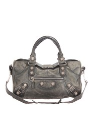 Motocross Classic City Giant 21 Lammskinn Leather Satchel