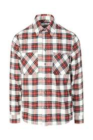 OW ALLOVER FLANNEL SHIRT