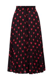 All-over hearts skirt