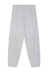 T2684 Jaquard Isoli Elasticated Pants