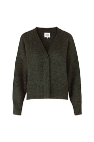 Brook Knit Boxy Cardigan Genser