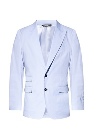 Notch lapel blazer