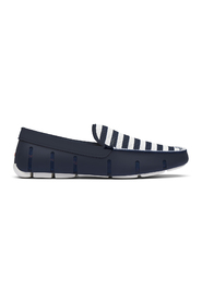Striped Venetian Loafer Footwear