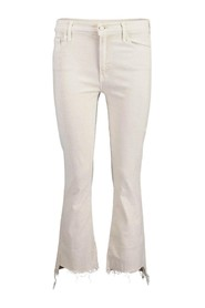 Insider Crop Step Fray Toasted Jeans