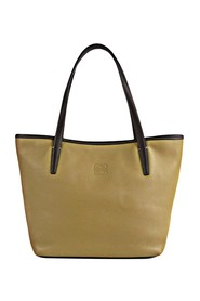 Anagram Leather Tote Bag