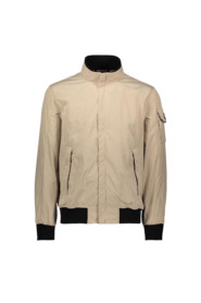 Jacket with pocket on the sleeve
