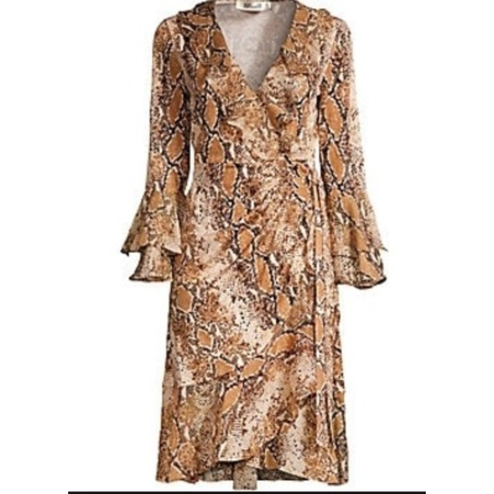 DVF Carli wrap dress