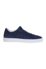 Sneakers in nabuck stampa cocco