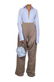 JUSTICE TROUSERS TAUPE