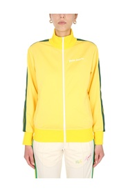 TRACK SWEATSHIRT WITH ZIP