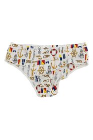 Underwear Sailor Print Bottoms