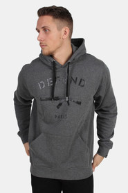 Defend Paris Sweat Capuche Hoodie Grey