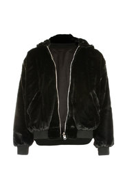 2 Way Bomber Jacket - Black, M/L