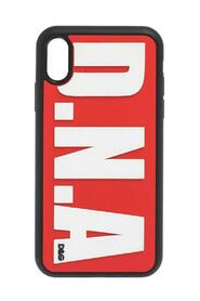 Gummi DNA -logo iPhone XS -veske