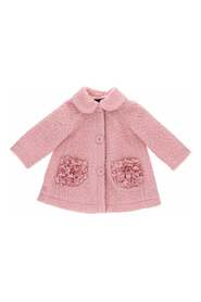 cappotto baby girl in boucle'