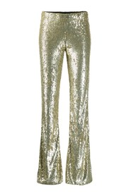 All over sequin trousers
