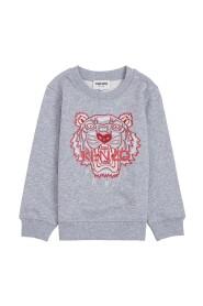 Sweatshirt with Tiger Print