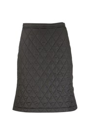 GAIL Diamond Quilted A-line Skirt