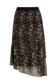 Nabia animal mesh skirt