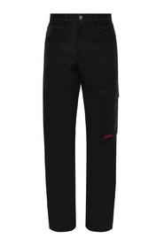 Cargo trousers with pockets
