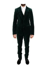 Velvet Slim Fit Two Button Suit