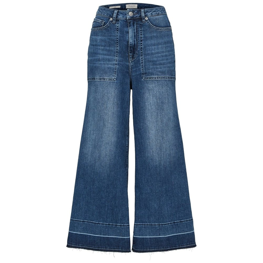 High waisted fit jeans