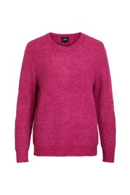Knitted Pullover Rib
