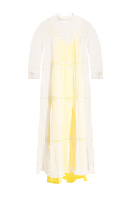Nima double-layered dress