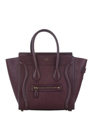 Luggage Leather Tote Bag