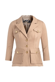 Taupe stretch jacket