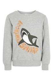 Sweatshirt shark print