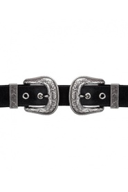 Sort B-Low The Belt Velvet Accessories