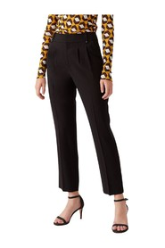 Frederica Twill-Blend Tailored Pants