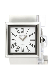Pre-owned Mademoiselle Quartz Stainless Steel Dress Watch H0827