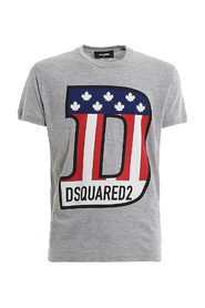 T-shirt with flag print
