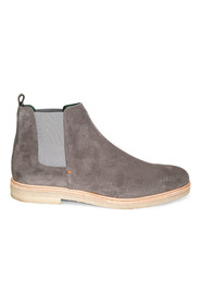 Grey/River Exceed - Fox Crepe Boots