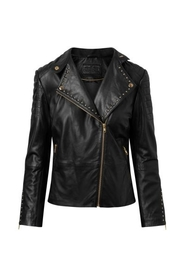 Depeche - Jacket with studs - Black/Gold