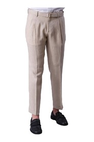 2 PENCES LINEN PANTS WITH BELT